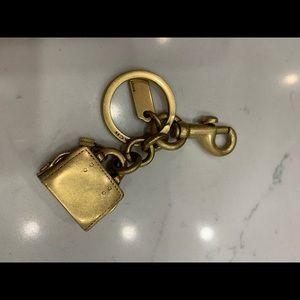 Coach Accessories - Authentic Coach bag charm key holder